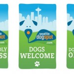 Have a dog friendly business? Tell the world with a free window decal from Seattle DogSpot!